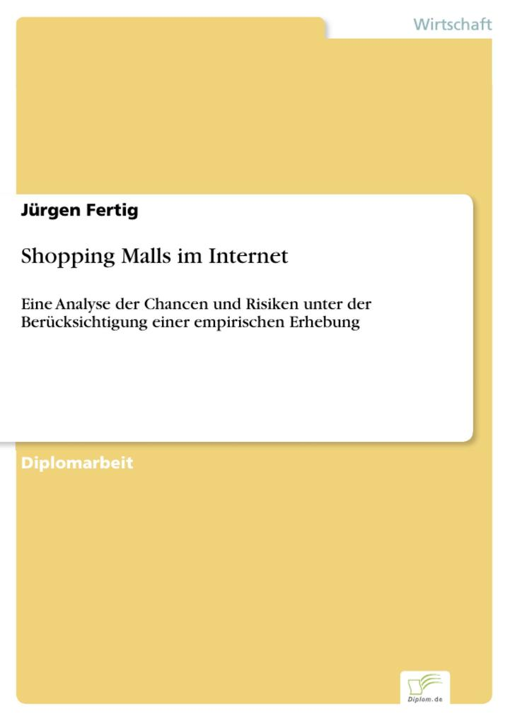 Shopping Malls im Internet als eBook Download v...
