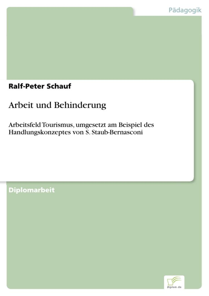 Arbeit und Behinderung als eBook Download von R...