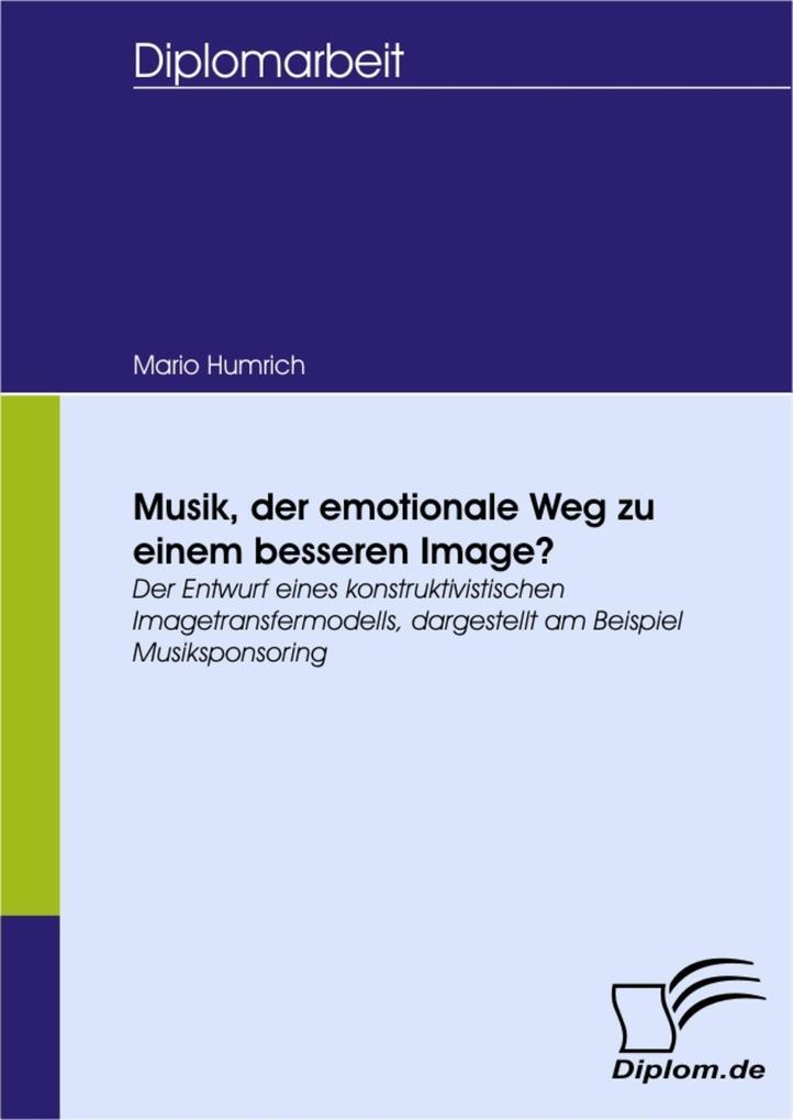 Musik, der emotionale Weg zu einem besseren Ima...