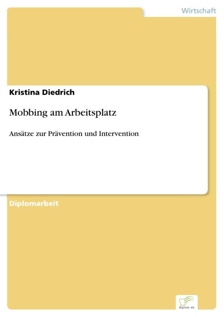 Mobbing am Arbeitsplatz als eBook Download von ...