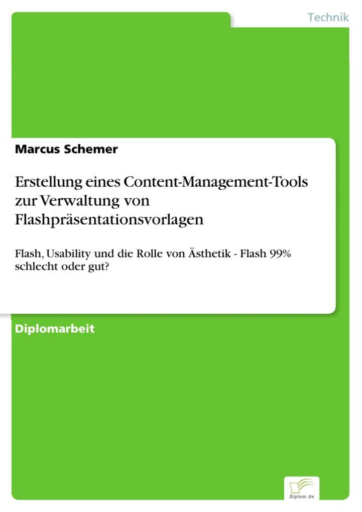 Erstellung eines Content-Management-Tools zur V...