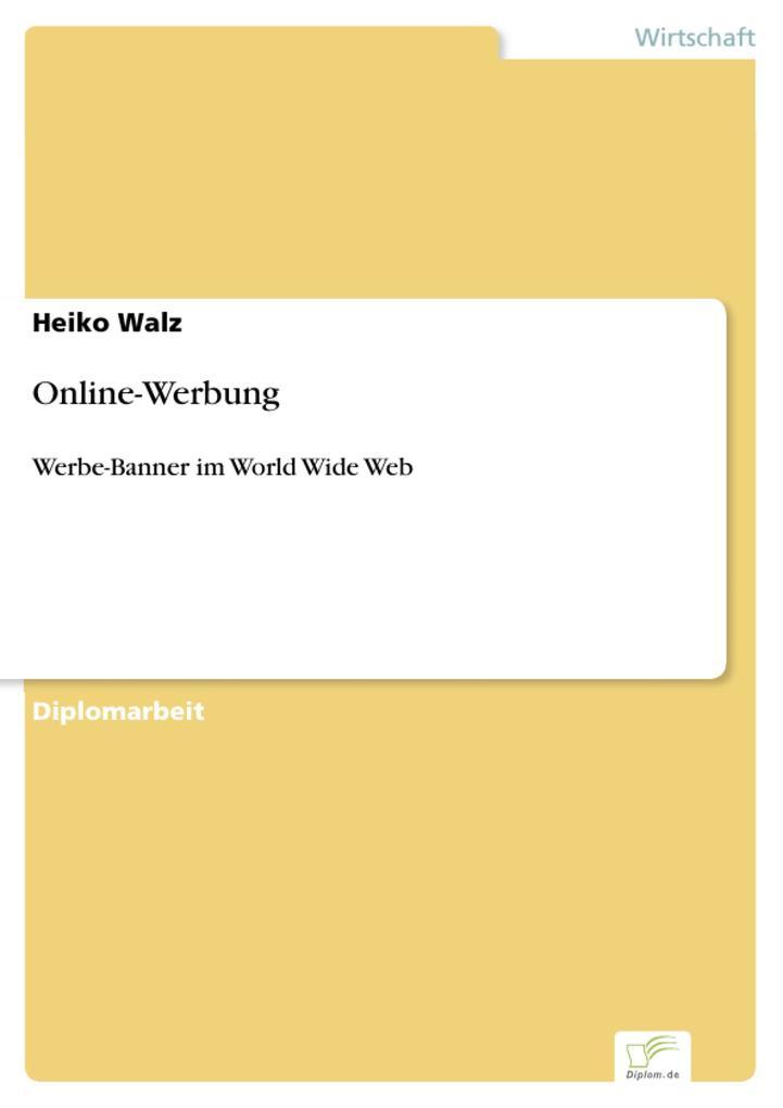 Online-Werbung als eBook Download von Heiko Walz