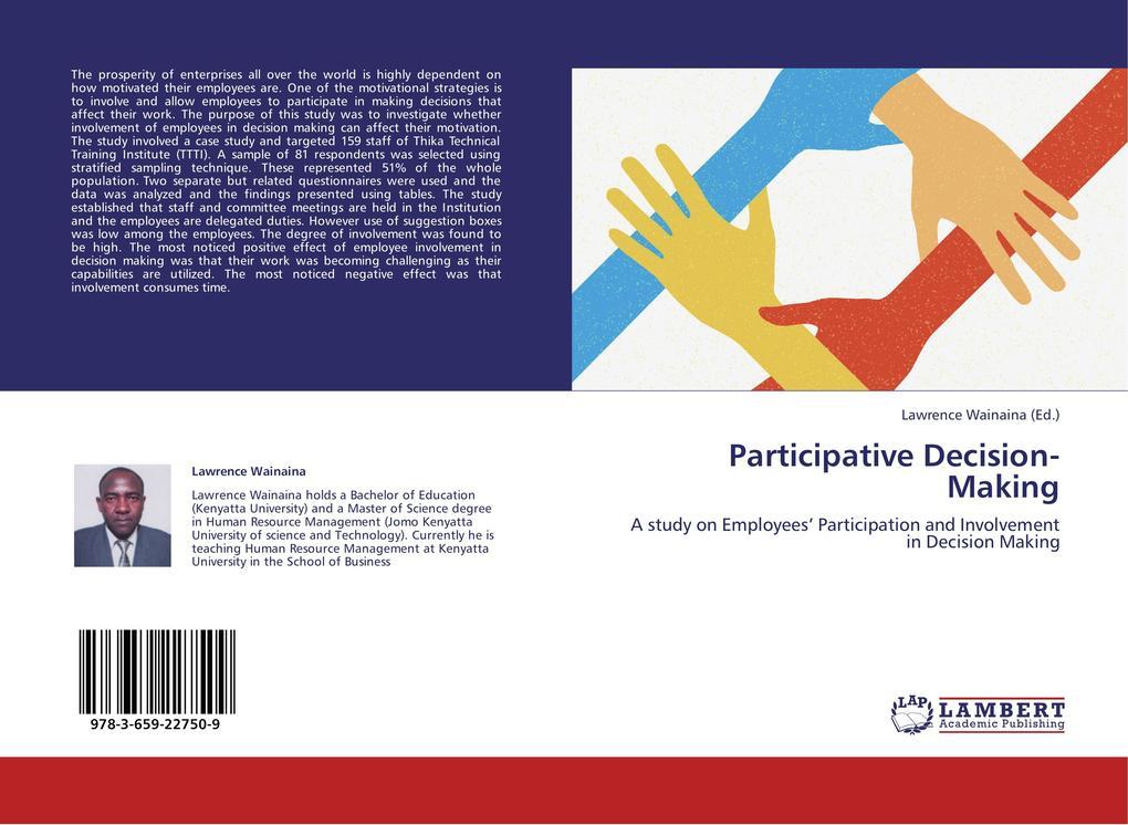 Participative Decision-Making als Buch von