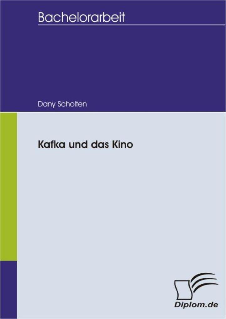 Kafka und das Kino als eBook Download von Dany ...