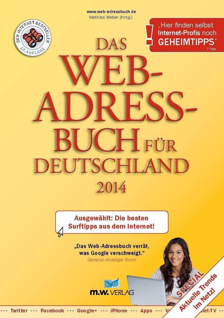 Das Web-Adressbuch für Deutschland 2014 - Ebook...