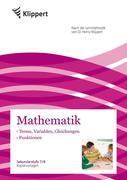 Terme, Variablen, Gleichungen - Funktionen