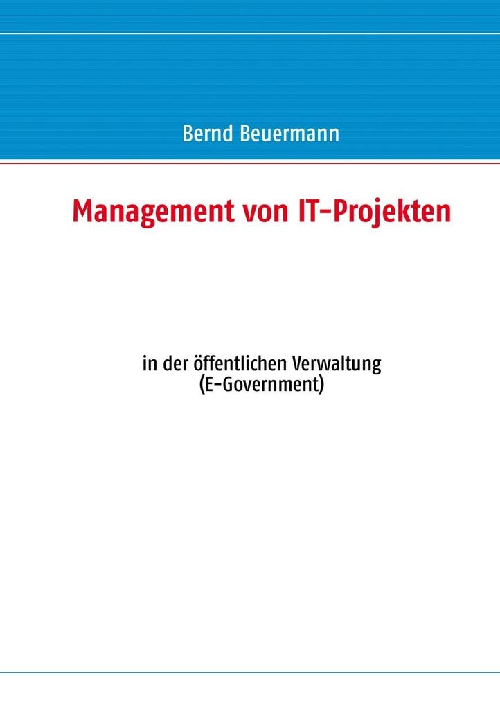 Management von IT-Projekten als eBook Download ...