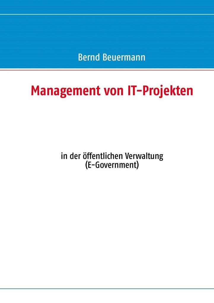 Management von IT-Projekten als eBook Download ...