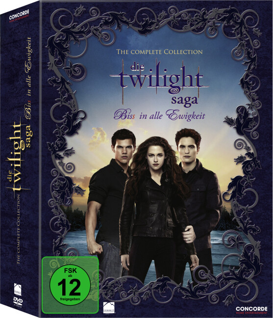 The Twilight Saga - Bis(S) in alle Ewigkeit. The Complete Collection. 11 DVD als DVD