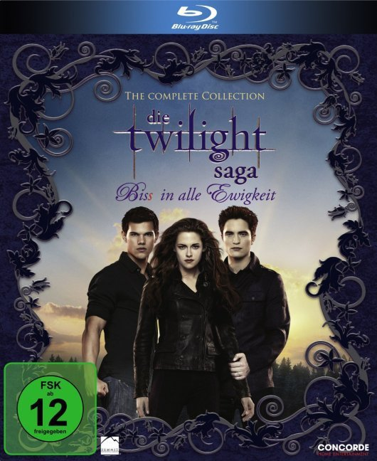 The Twilight Saga - Bis(S) in alle Ewigkeit. The Complete Collection. Blue-ray als DVD