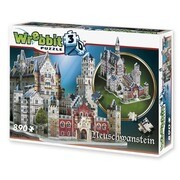 NEUSCHWANSTEIN CASTLE - 3D-PUZZLE Wrebbit