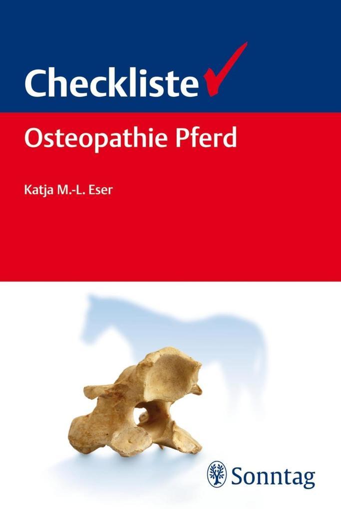 Checkliste Osteopathie Pferd als eBook Download...