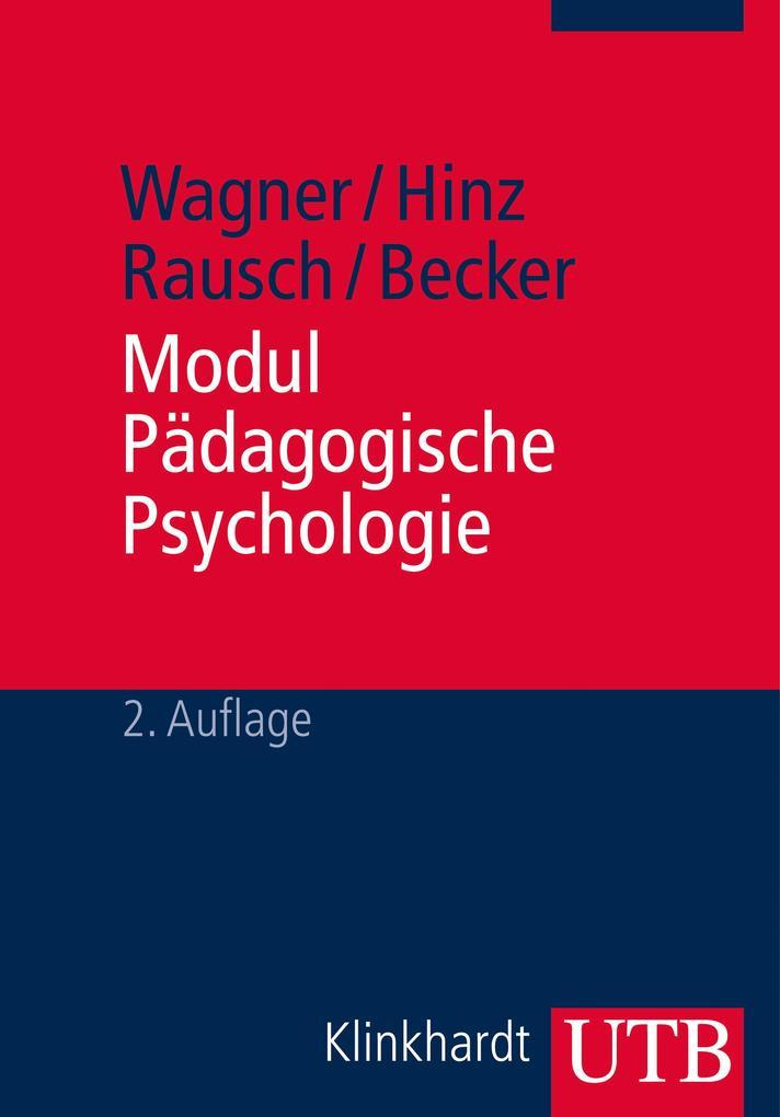 Modul Pädagogische Psychologie als Buch von Rud...