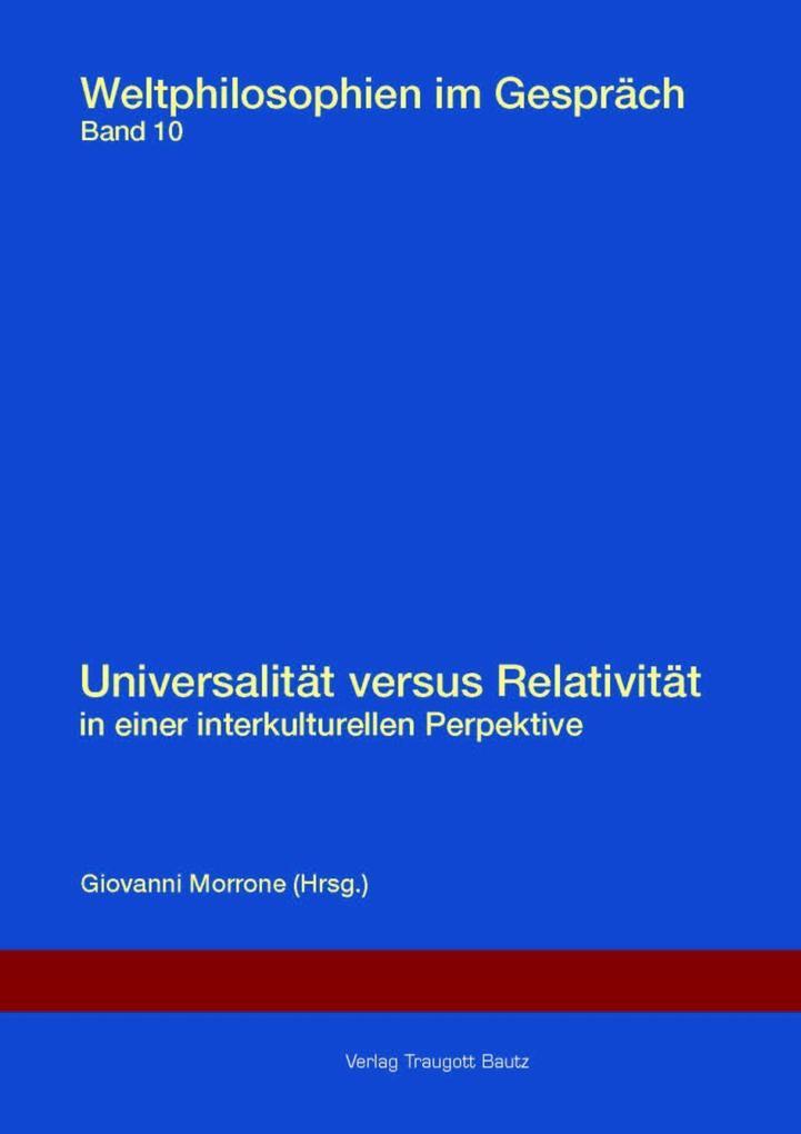 Universalität versus Relativität in einer inter...