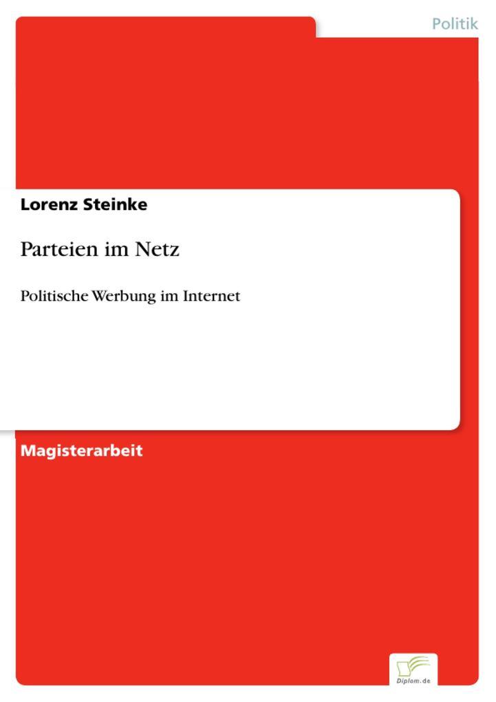 Parteien im Netz als eBook Download von Lorenz ...