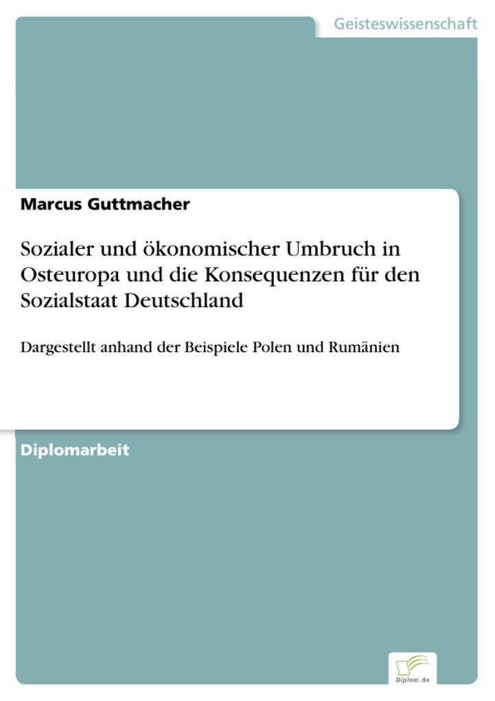 Sozialer und ökonomischer Umbruch in Osteuropa ...