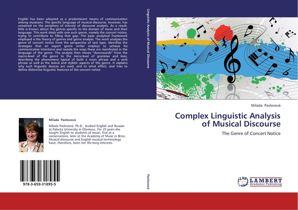 Complex Linguistic Analysis of Musical Discours...