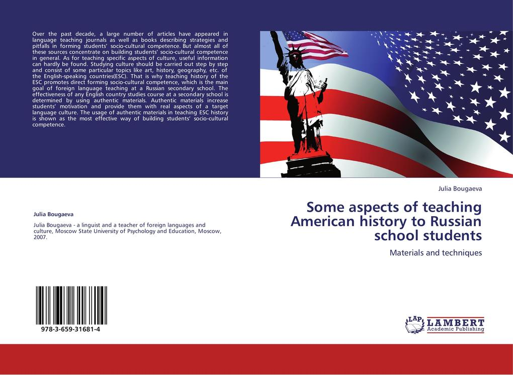 Some aspects of teaching American history to Ru...