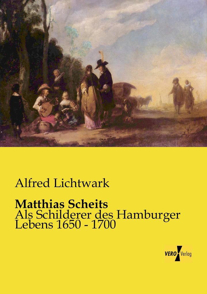 Matthias Scheits als Buch von Alfred Lichtwark