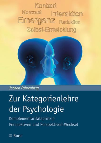 Zur Kategorienlehre der Psychologie als Buch vo...