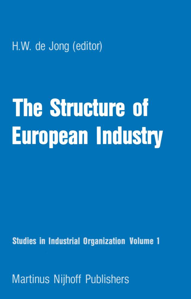 The Structure of European Industry als Buch von...