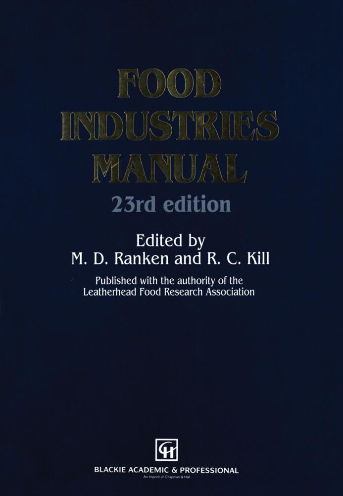 Food Industries Manual als Buch von