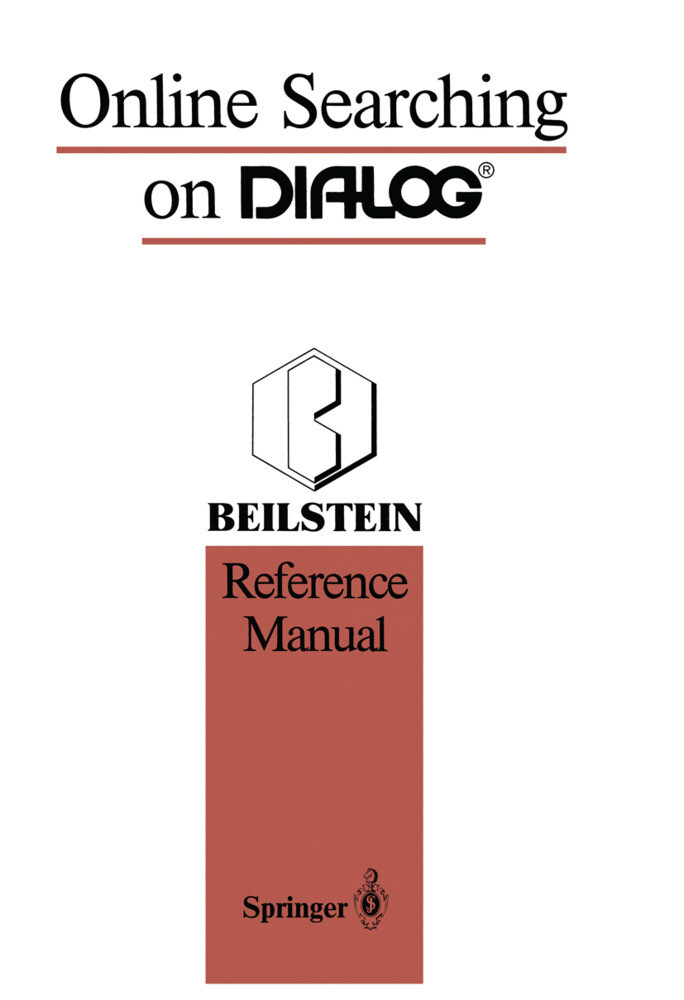Online Searching on DIALOG® als Buch von Stephe...