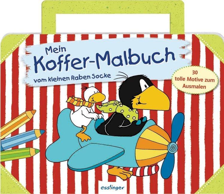 Der Kleine Rabe Socke Mein Koffer Malbuch Vom Kleinen Raben Socke