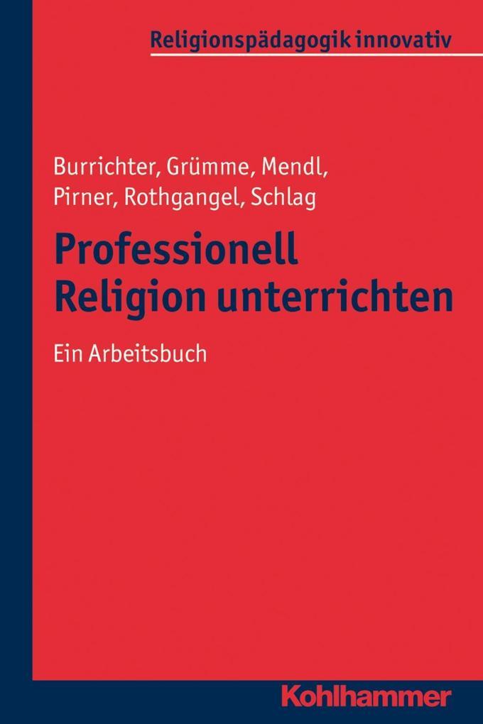 Professionell Religion unterrichten als eBook D...
