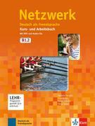 Netzwerk B1. Kurs- und Arbeitsbuch mit DVD und 2 Audio-CDs, Teil 2
