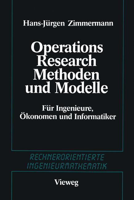 Methoden und Modelle des Operations Research al...