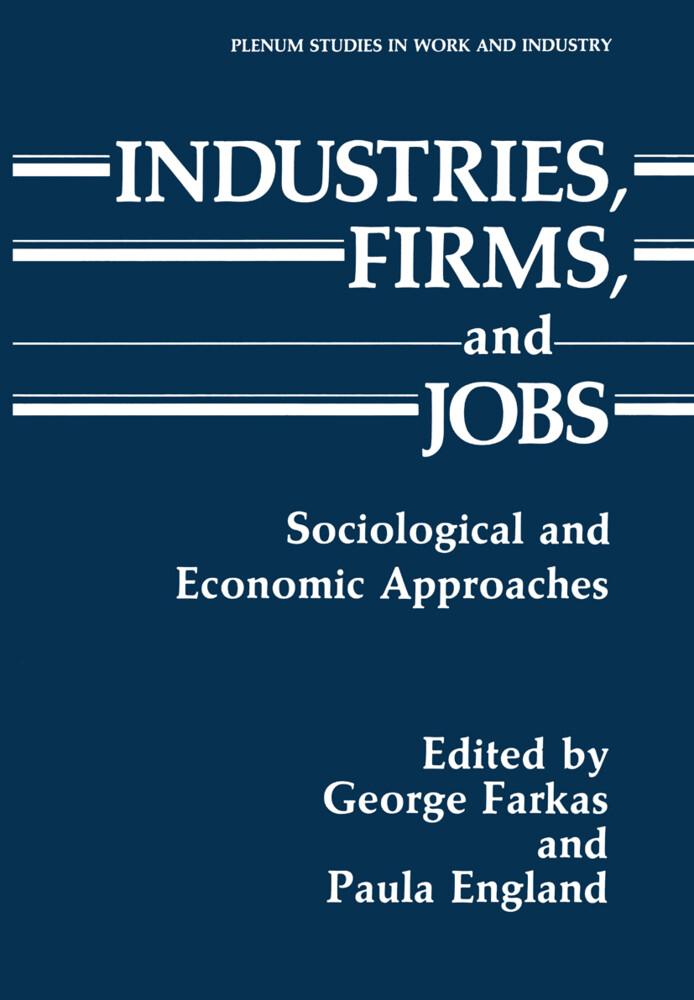 Industries, Firms, and Jobs als Buch von