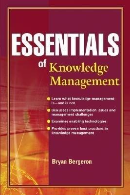Essentials of Knowledge Management als Taschenbuch