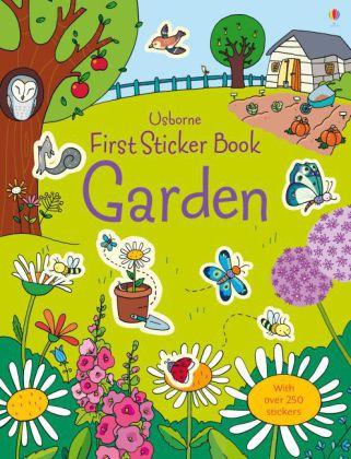 First Sticker Book Garden als Taschenbuch von L...