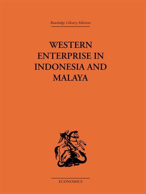 Western Enterprise in Indonesia and Malaysia al...