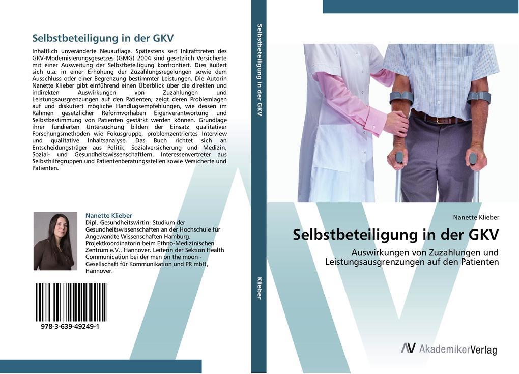 Selbstbeteiligung in der GKV als Buch von Nanet...