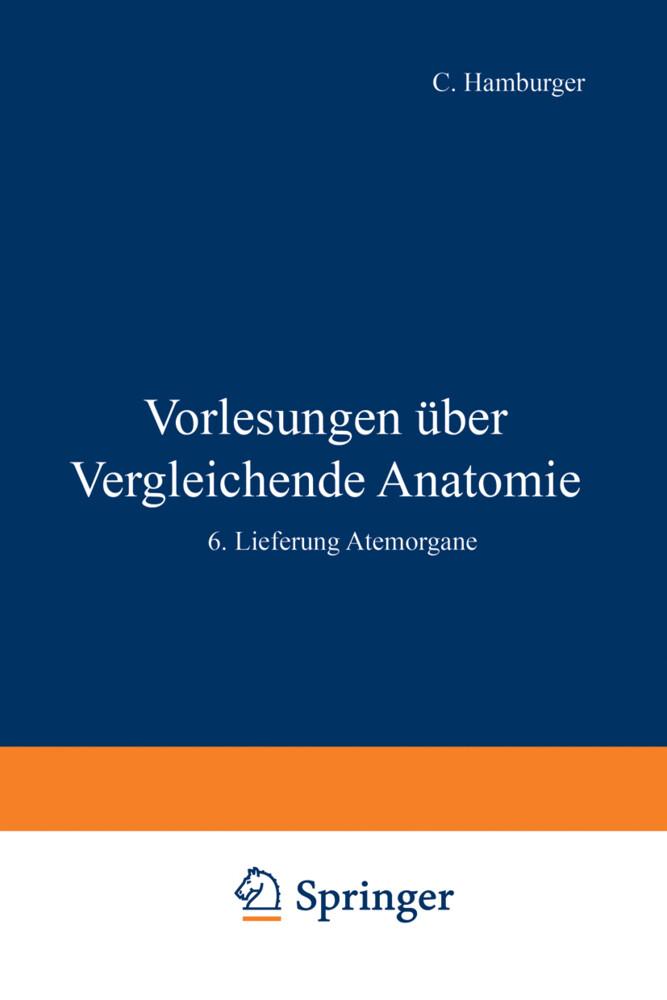 Vorlesungen Über Vergleichende Anatomie als Buch (kartoniert)