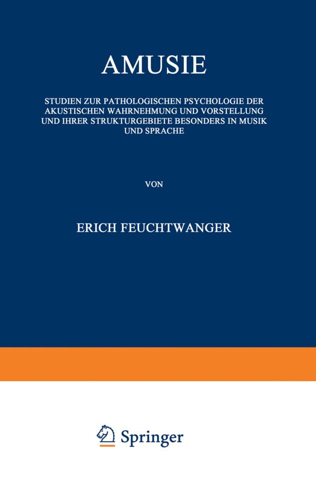 Amusie als Buch von Erich Feuchtwanger