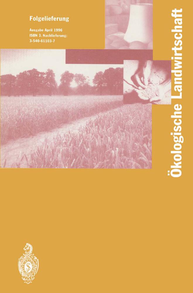 Ökologische Landwirtschaft als Buch von I. Lünz...