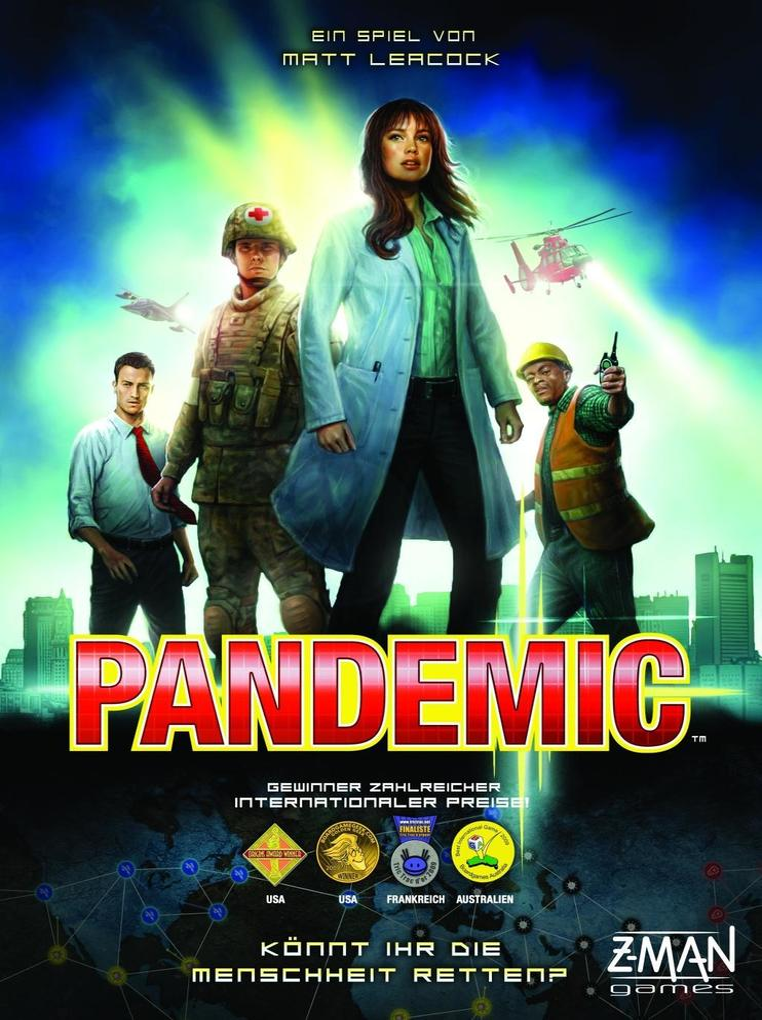Pandemie als Spielwaren
