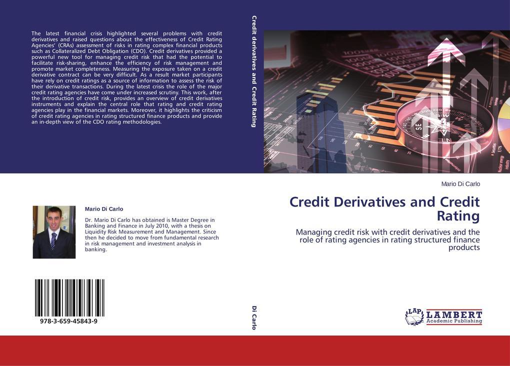 Credit Derivatives and Credit Rating als Buch v...