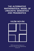The Alternative Mathematical Model of Linguistic Semantics and Pragmatics