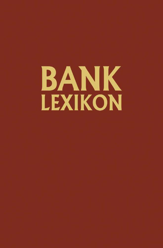 Bank-Lexikon als Buch von Josef Löffelholz, Ger...