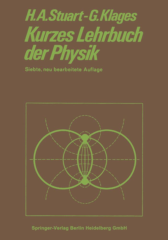 Kurzes Lehrbuch der Physik als Buch von Gerhard...