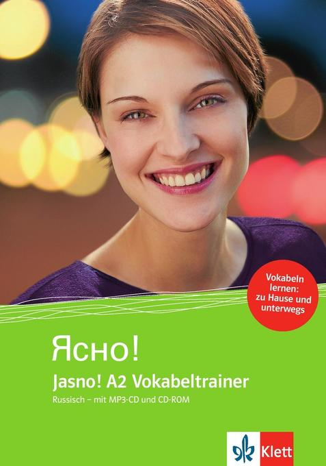Jasno! Vokabeltrainer A2. Russisch - mit MP3-CD...
