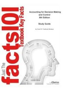 Accounting for Decision Making and Control als ...