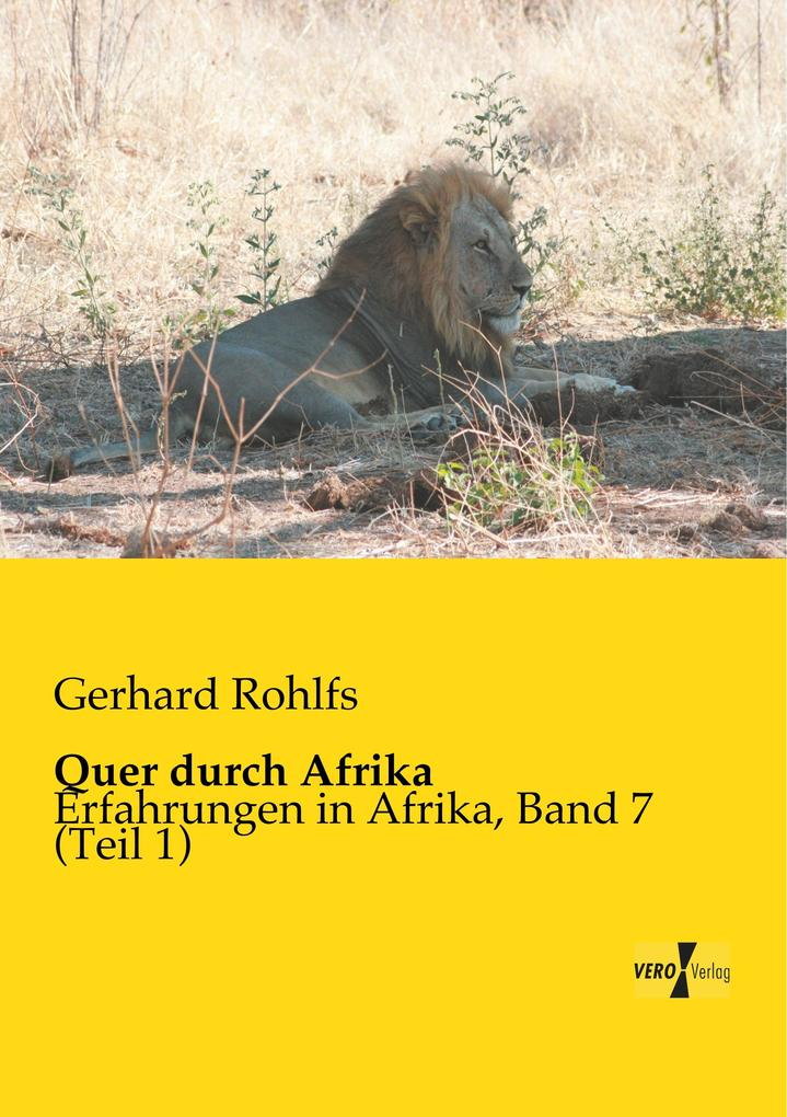 Quer durch Afrika als Buch von
