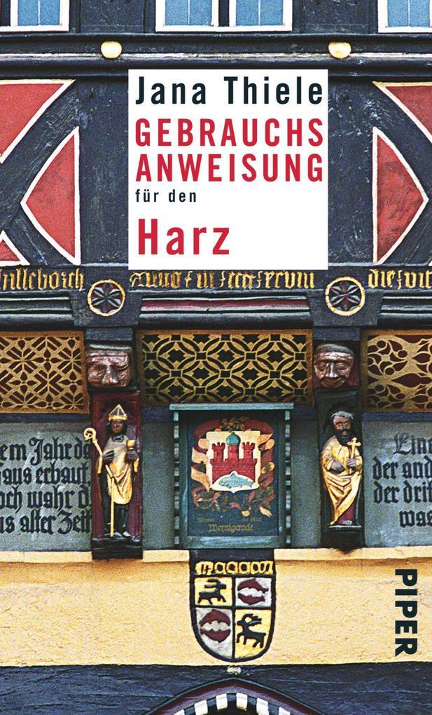 Gebrauchsanweisung für den Harz als Taschenbuch...
