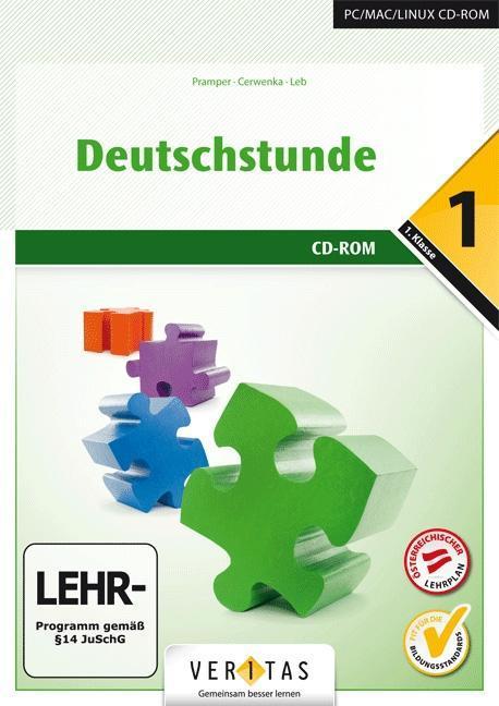 Deutschstunde 1. Schuljahr. CD-ROM zum Sprachbu...