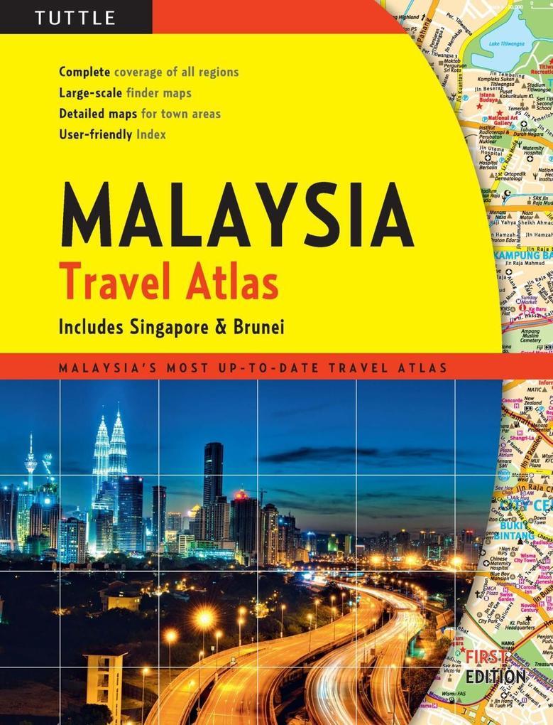 Malaysia Travel Atlas als eBook Download von